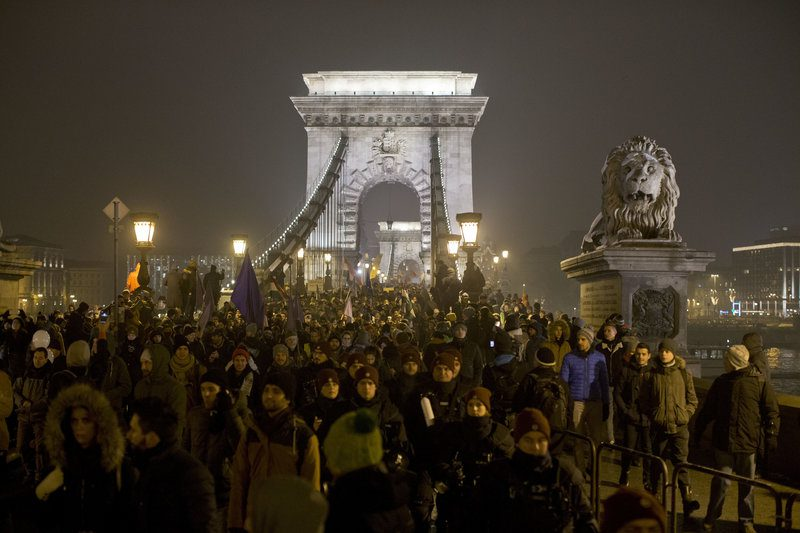 Hungary protests