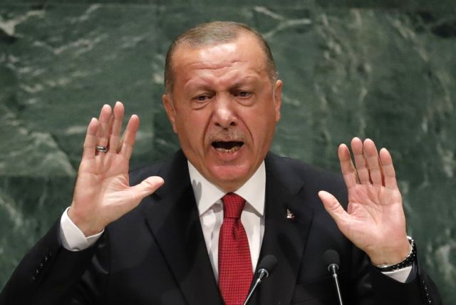 Turkey's president recep tayyip erdogan addresses the 74th session of the united nations general assembly at u n headquarters in new york city, new york, u s