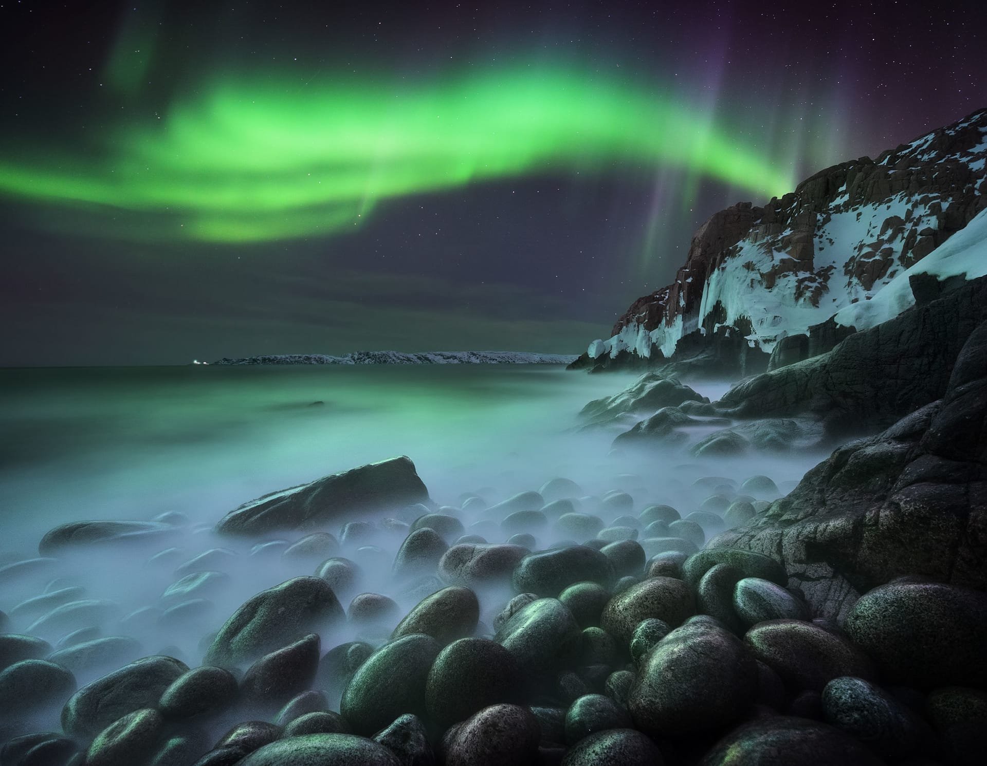Northern lights photographer