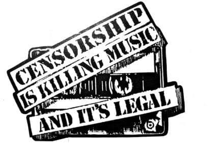 Censorship and melodies…