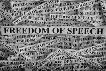 Selective freedom of speech…