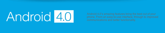 Android 4.0 features