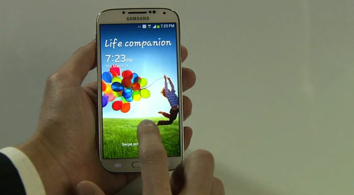 Samsung Galaxy S4 hands-on
