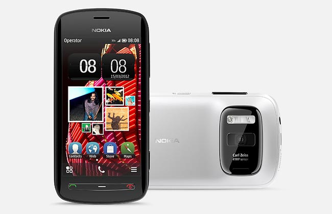 Symbian Nokia Pureview 808