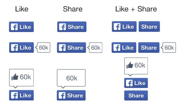New Facebook Like Button
