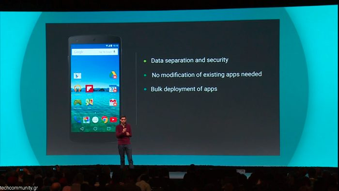 Android L Business features