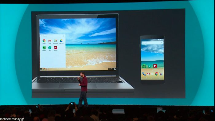 Google Chromebook Android