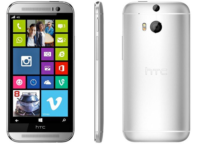HTC One (M8) for Windows concept