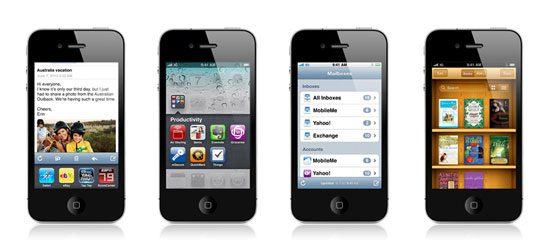 iPhone iOS 4