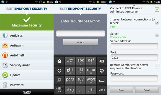 ESET Endpoint Security για Android smartphone και tablet