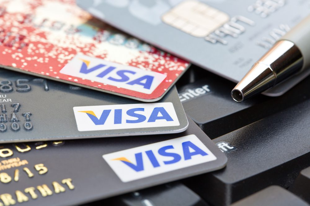 VISA emv chip card