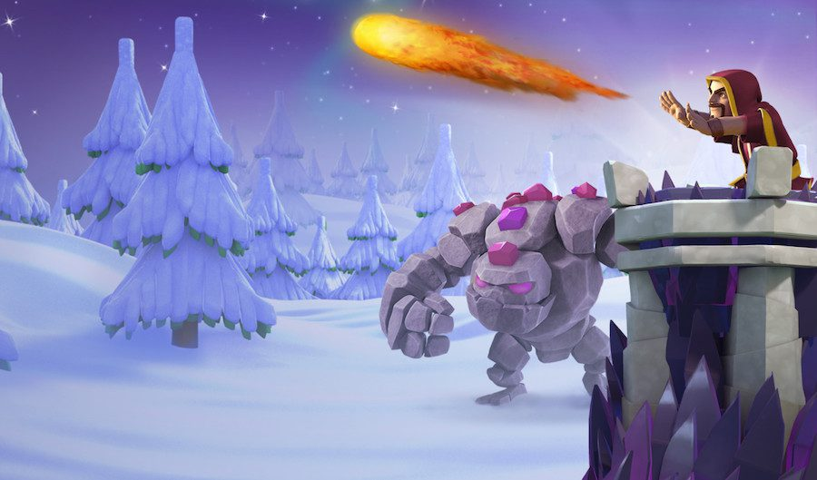 Clash of Clans winter update 2016