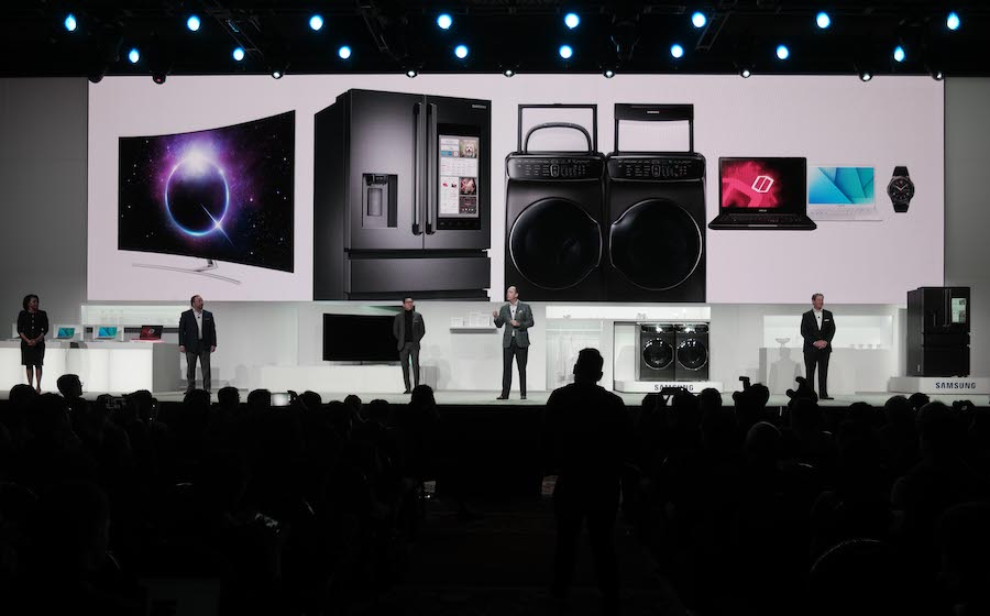 Samsung Electronics Press Conference at CES 2017 (2)