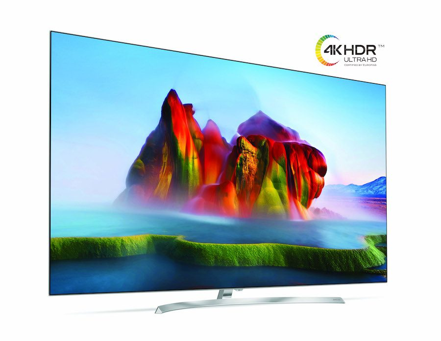 LG SUPER UHD TV with NanoCell Display 4K certification