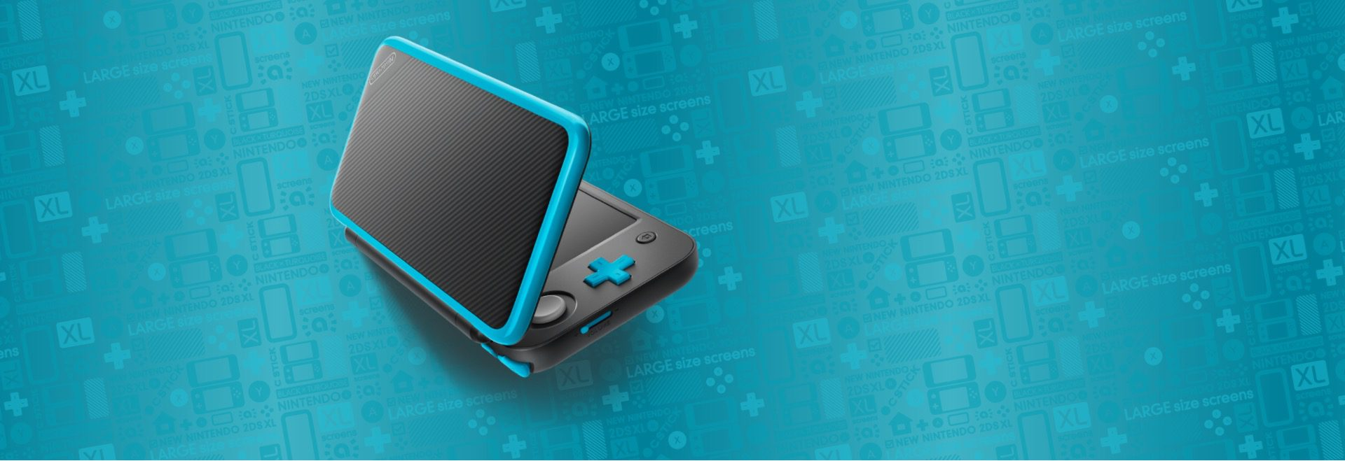 Nintendo 2DS XL hero