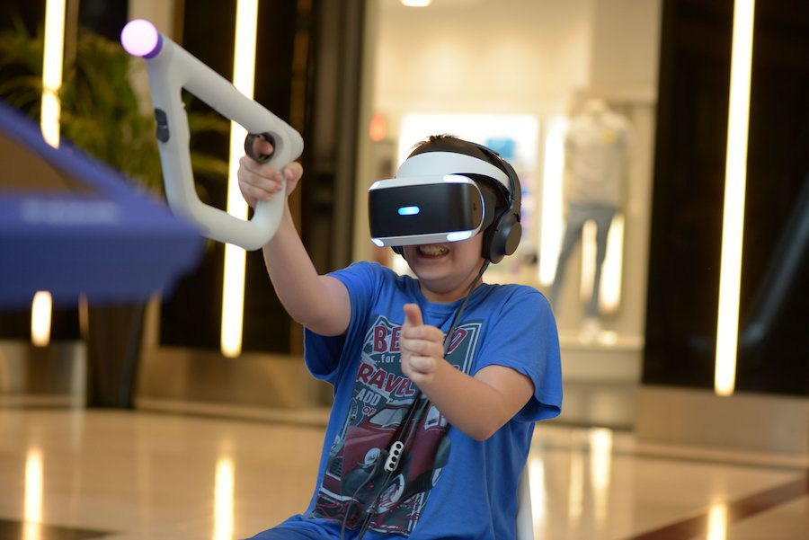 Sony PlayStation 4 VR @TechFest Golden Hall 2