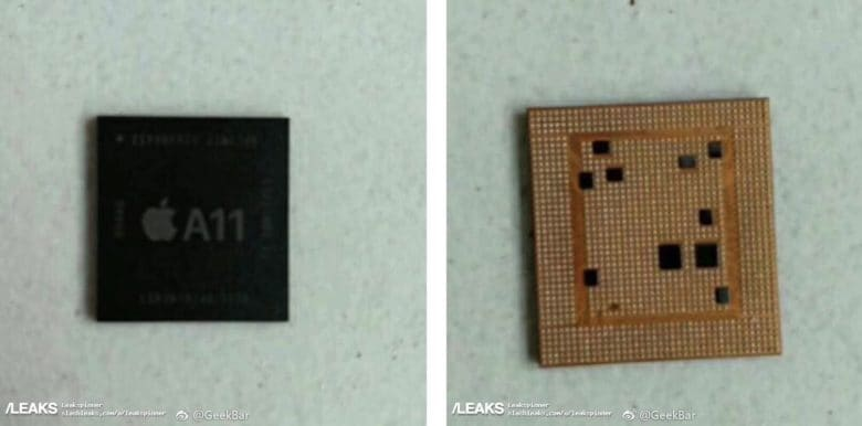 Apple iPhone 8 A11 chipset leak