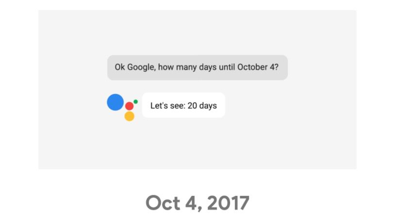 Google event on October 4th