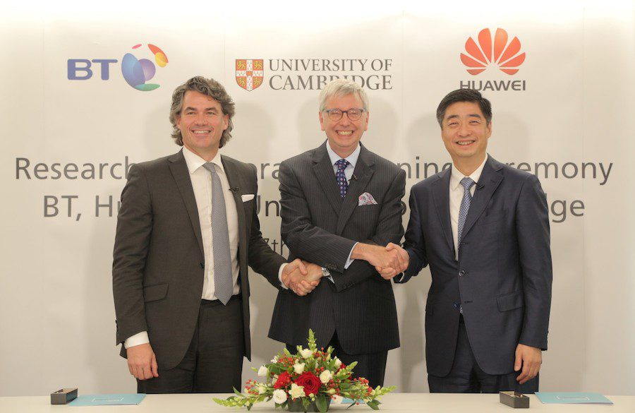BT HUAWEI R&D CAMBRIDGE