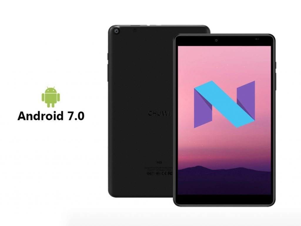 Chuwi Hi9 with Android Nougat