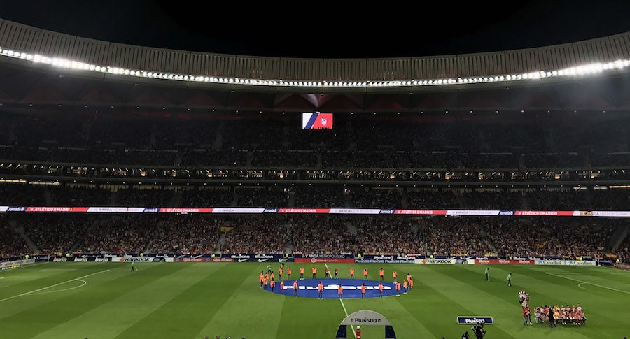 LG Signage Technology for Atletico de Madrid 1