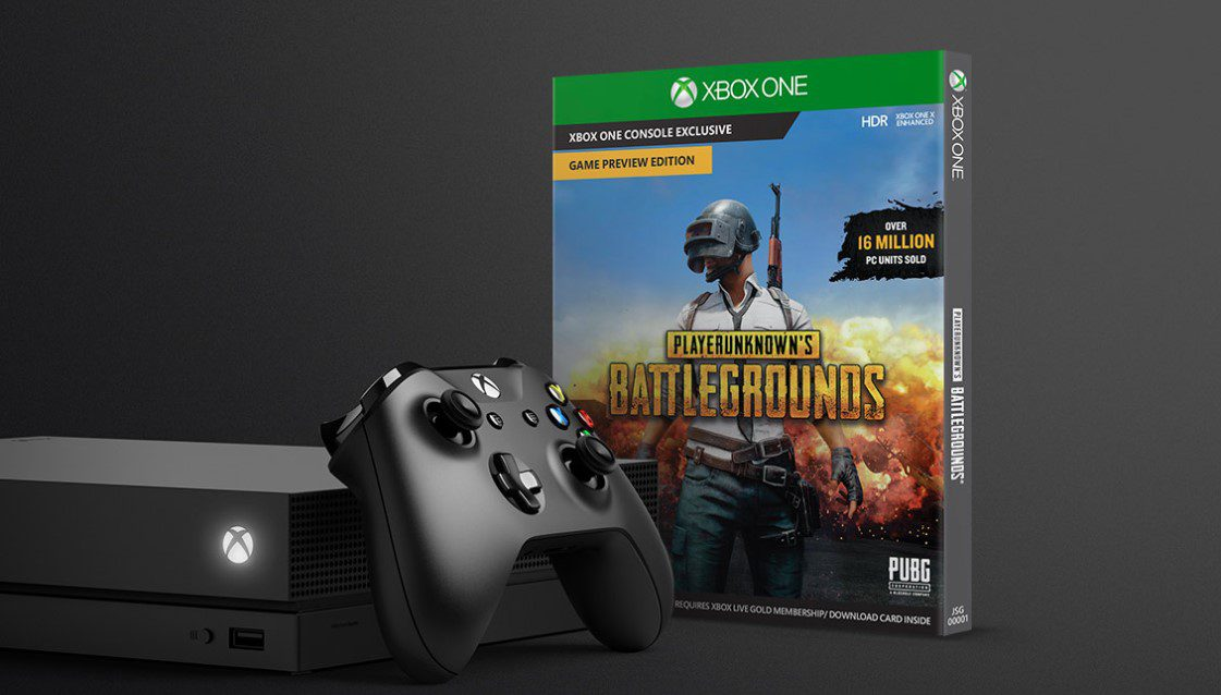 Xbox One X And PUBG