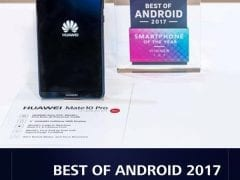 Award for Huawei Mate 10 Pro by Android Authority