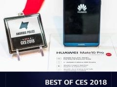 Award for Huawei Mate 10 Pro by Android Police