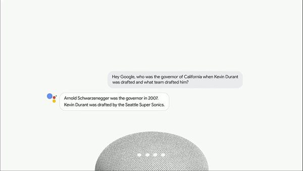 Google Assistant Multiple Actions