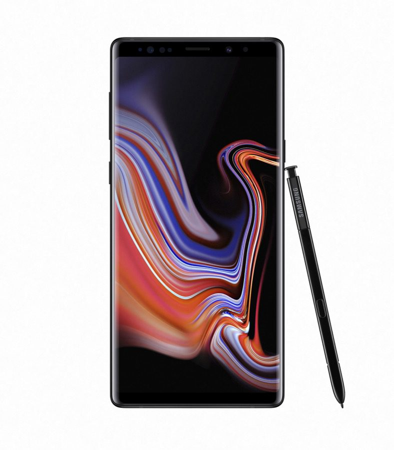 Samsung Galaxy Note9 Midnight Black front