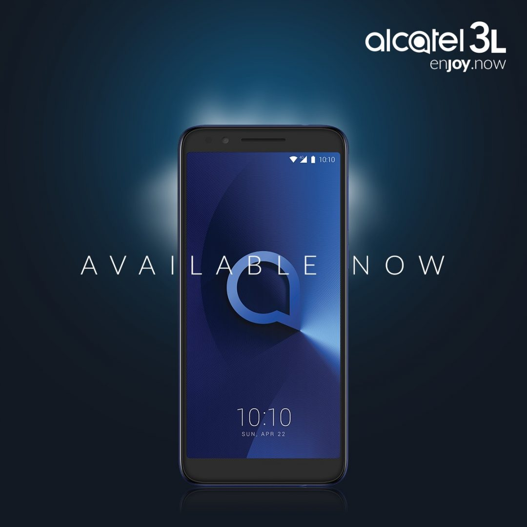 Alcatel 3L available now