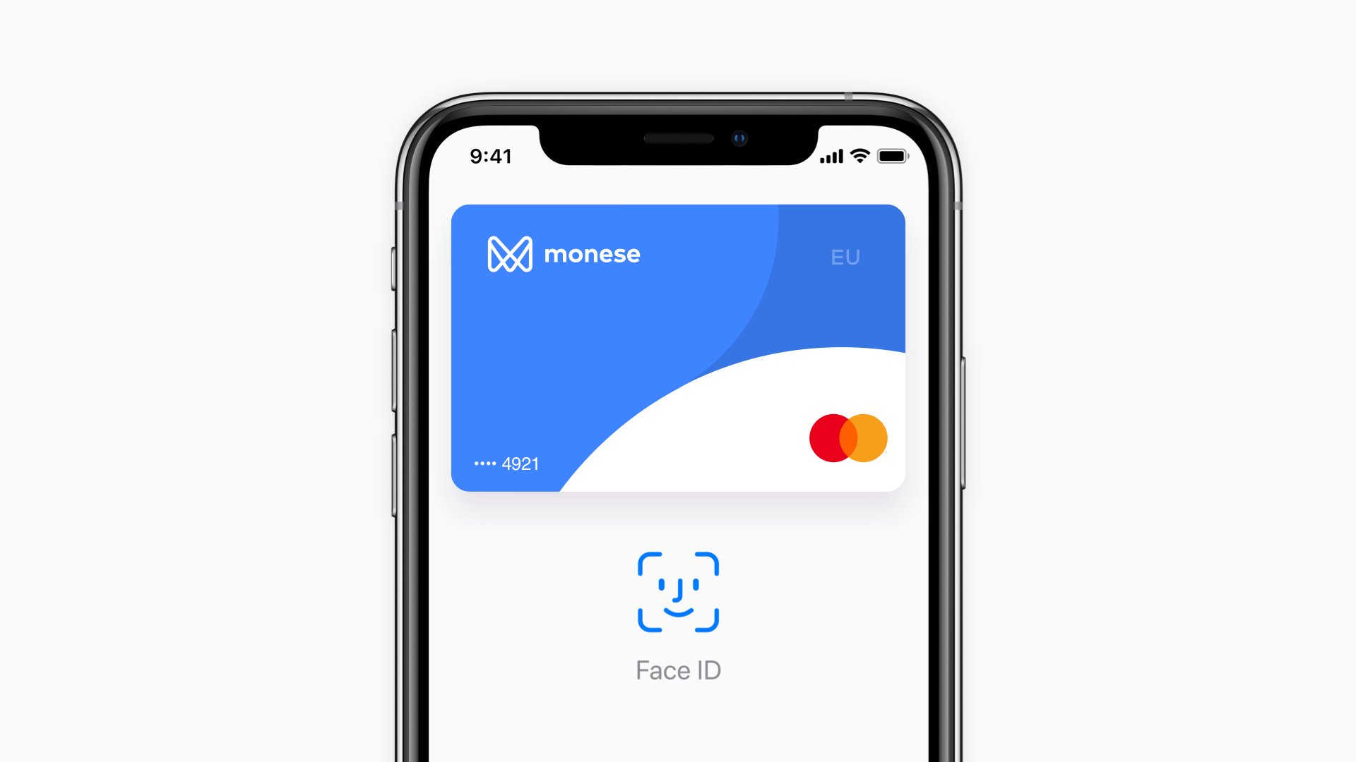 Monese Apple Pay