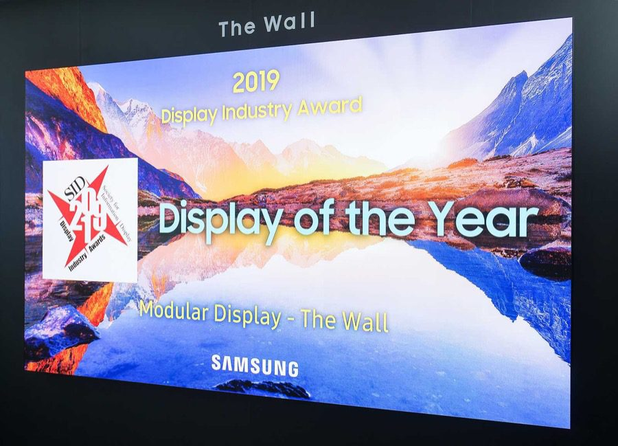 Samsung the wall sid display of the year 4