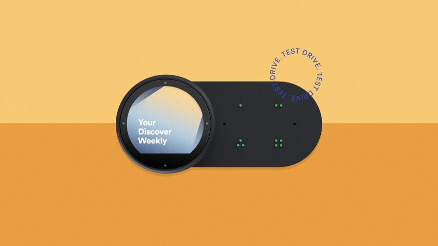 Spotify Car Thing device test drive