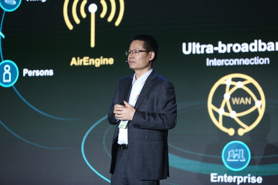 Huawei Data Communication Kevin Hu president