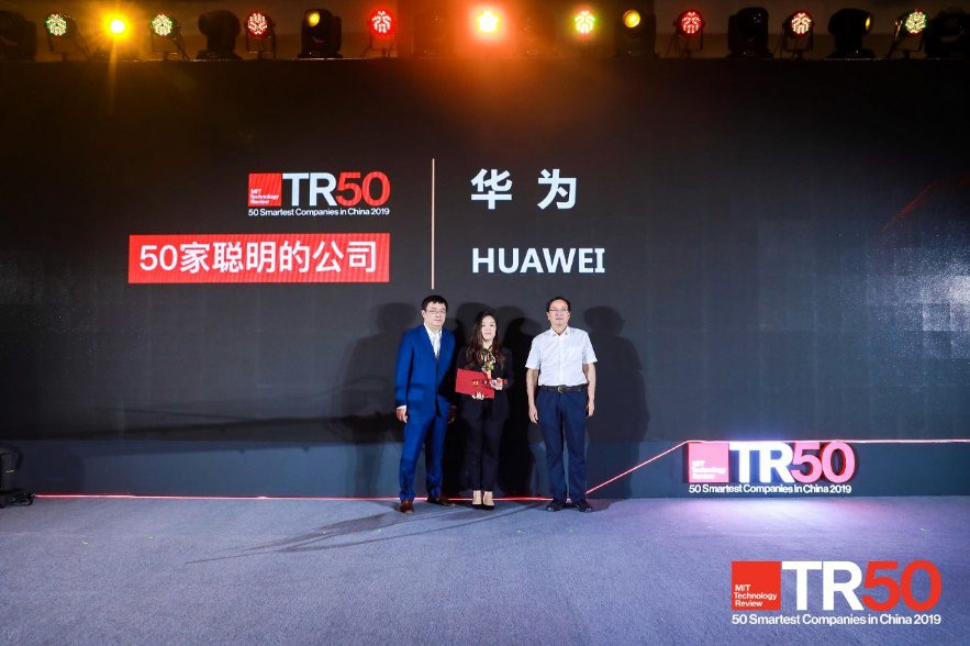 Huawei MIT Technology Review smartest company 2