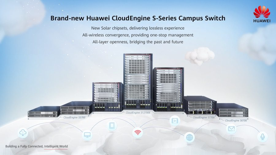Brand new Huawei CloudEngine S Series Campus Switch Poster