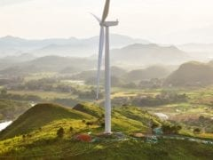Apple China Clean Energy Fund invests in wind farms single windwill 082619