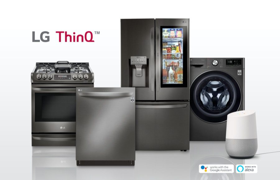 LG ThinQ products