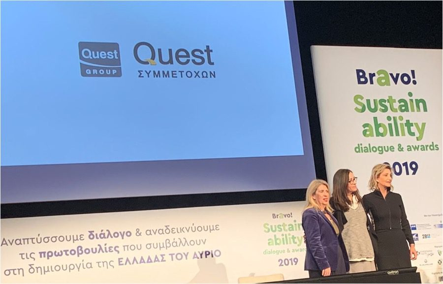 Quest BRAVO awards