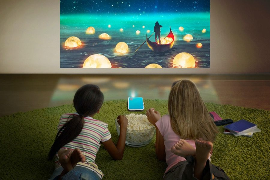 ViewSonic Projector PR (M1 mini & M1 mini Plus scenario image)