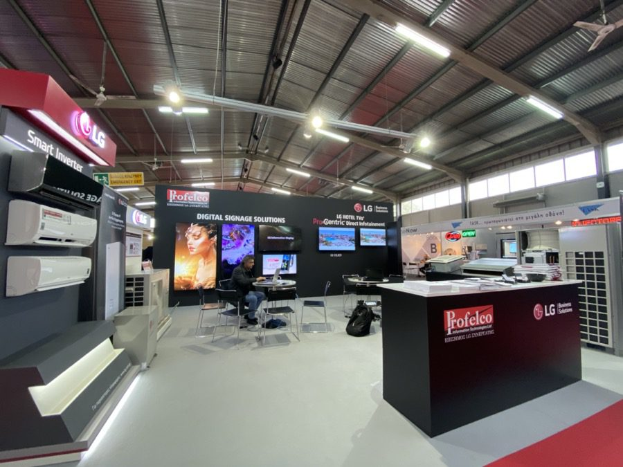 LG Business Solutions at Hospitality Expo Cyprus