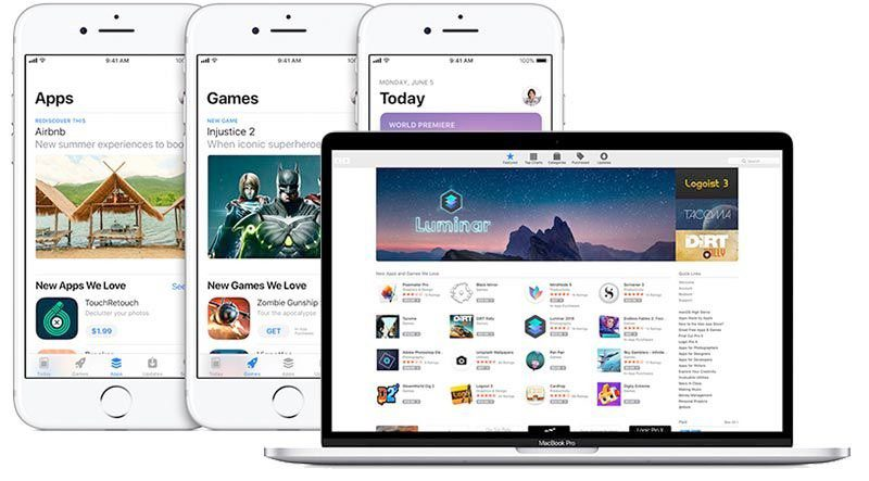 Universal Apps Apple App Store