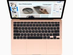 Apple new macbook air new magic keyboard 03182020